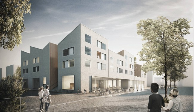 immobilienreport m nchen landsberg urbanes leben am papierbach baufeld b1 staab. Black Bedroom Furniture Sets. Home Design Ideas